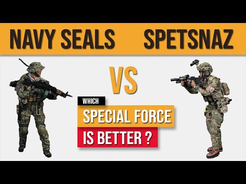 US Navy Seals VS Russian Spetsnaz