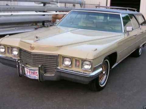 Elvis Presley Long black limousine.