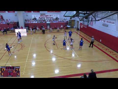 Salamanca High Schoo vs. Gowanda High School JV Womens' Basketball
