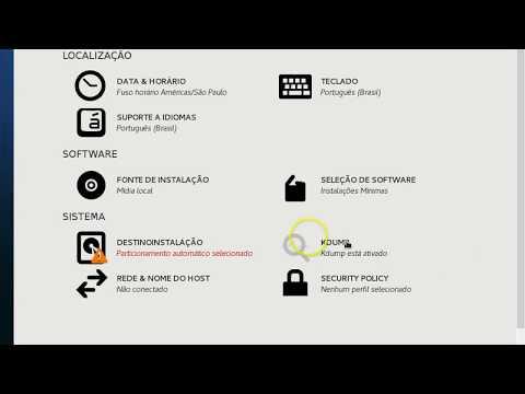 Zabbix configuração inicial Instalando zabbix parte 1