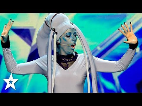 Fifth Element Singer Sings Opera on Spain's Got Talent | Got Talent Global