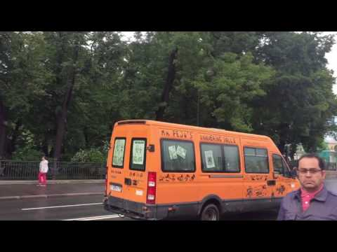 From Moscow to St.Petersburg by hitch-hiking
