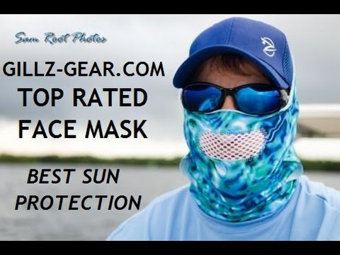 Top Rated Fishing Face Mask, Gillz-Gear Face Mask, Our Customers Say#1, Style, Comfort, Selection #1