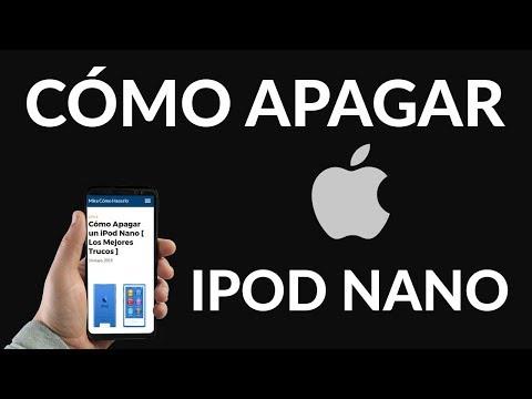 ¿Cómo Apagar un iPod Nano?