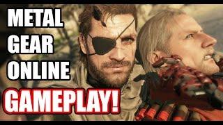 Metal Gear Online Multiplayer Gameplay PC