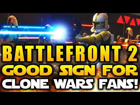 Star Wars Battlefront 2 (2017) - A Good Sign For Clone Wars Fans!
