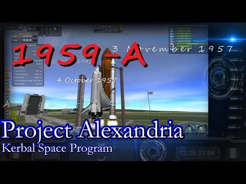1959 Pt.1 History of Spaceflight in RSS / Project Alexandria-04 / KSP 0.25