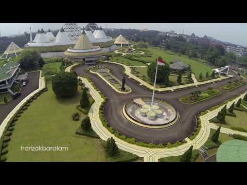 Drone DJI Phantom Taman Mini Indonesia Indah (TMII) - Beautiful of Indonesia Park Jakarta