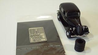 Фототравление и резина для ГАЗ М-1 ''Эмка'' Автолегенды СССР - набор ''Петроградъ'' для доработки