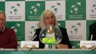 Davis Cup Draw- Hungary vs Slovakia