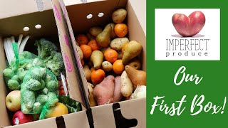 Imperfect Produce || Order and Delivery