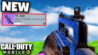 *NEW* FR.556 GAMEPLAY! (BETTER THAN AK47?!) | CALL OF DUTY MOBILE | SOLO VS SQUADS