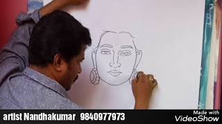 How to draw Lord SHIVA FACE art class seven A