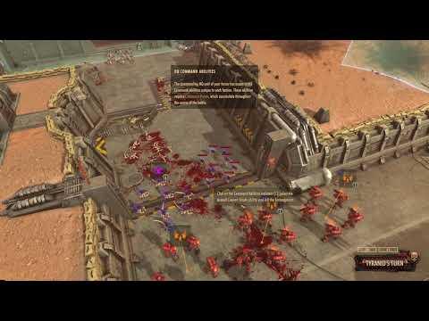 Warhammer 40,000 Battlesector Gameplay (PC Game) |
