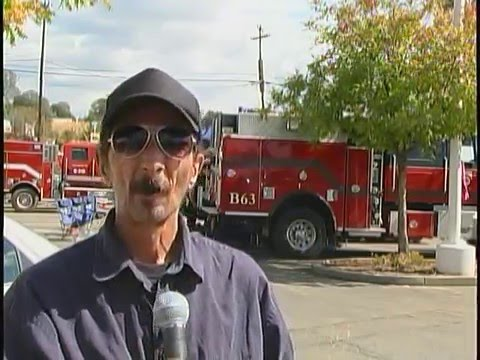 KING FIRE base camp tour, Eldorado County California HNN Special Report