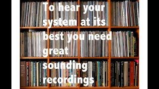 Some of my best sounding recordings #AudiophiliacDaily