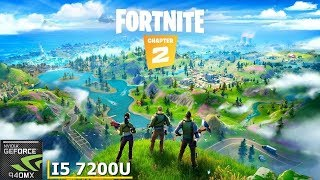Fortnite  Chapter 2 Season 1 || 940MX (MX130) || Acer Aspire A515 51G 58VH