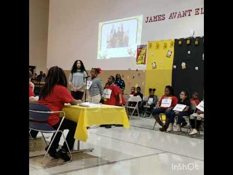 James Avant Elementary School 7th Annual Spelling Bee