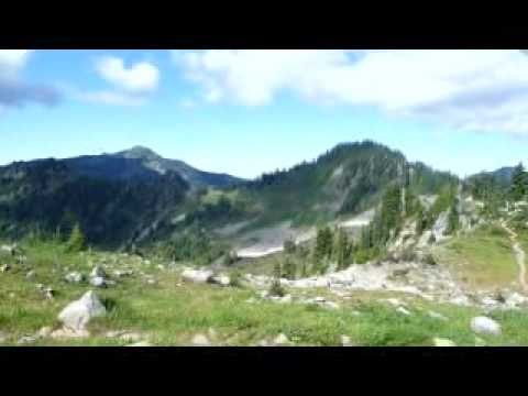 Hike - On top of High Divide, Olympic Mountains