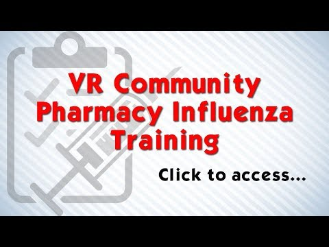 Community Pharmacy VR Influenza Training Package