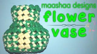 plastic wire flower vase easy and clear tutorial