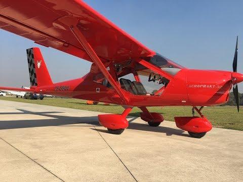 New Aircraft collection Day! - Aeroprakt A32 Vixxen
