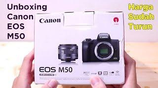 Unboxing Canon EOS M50, sudah turun harga loh guys - ReviewGadgetIndonesia