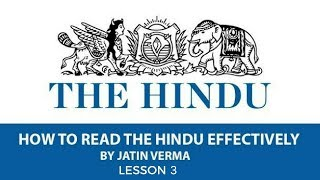 How To Read The Hindu Newspaper for Economics Section Part 3 for UPSC and Other Exams