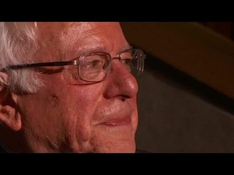 Watch Sanders cry during DNC roll call