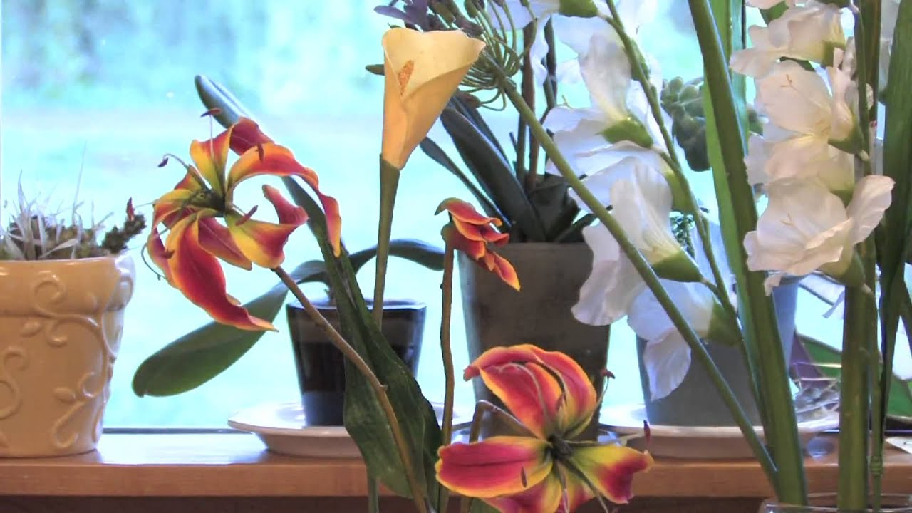Gardening Tips Advice Instructions For Silk Flower Arranging