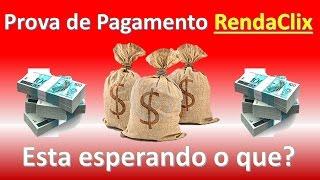 Ptc Brasileiro RendaClix   Com Prova de Pagamento pelo Paypal Recebi 16 Reais em 7 dias!