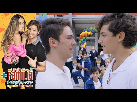 ¡Aris se le declara a Temo! | Mi marido tiene más familia - Televisa
