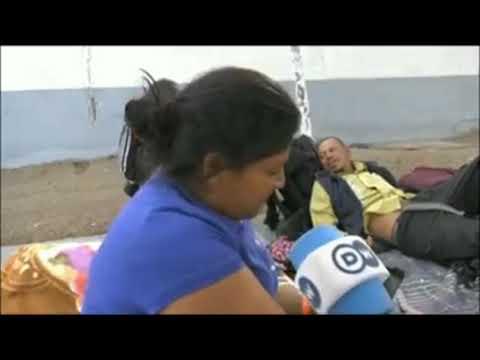 Rico - Inmigrante de la caravana no le gustan frijoles