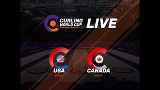 United States v Canada - Women - Curling World Cup First Leg - Suzhou