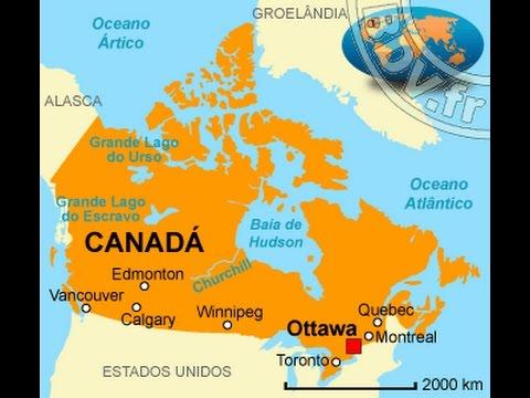 ASMR Mapa Do CANADÁ Sussurro Whisper Pt Br YouTube - Canada mapa