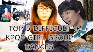 Top 5 Hardest Kpop Girl Group Dances [Charissahoo]