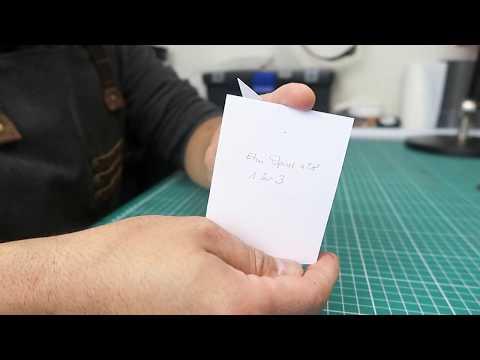 Fabrication D'un étui à Couteau Opinel / Making An Opinel Knife Sheath