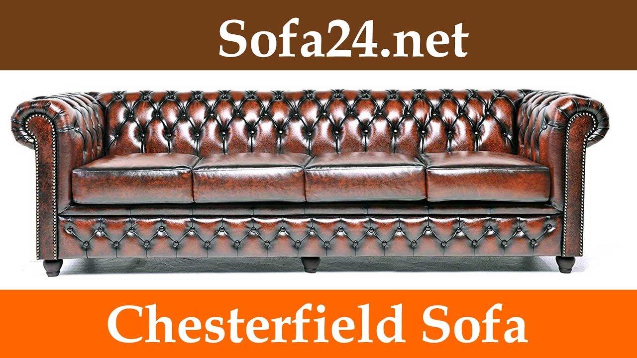 Chesterfield Sofa, Ob Als 2 Sitzer, 3 Sitzer Oder Eckcouch - Einfach