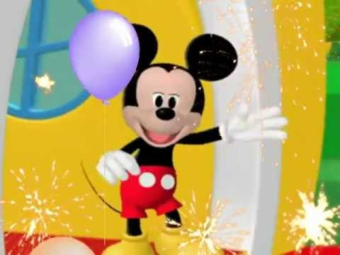 Happy Birthday, Mickey Mouse Style!