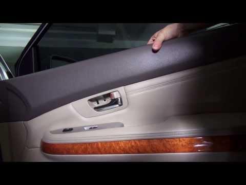 Как снять обшивку двери на Lexus RX 2003—2009