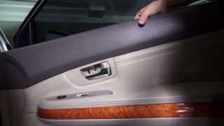 Как снять қаптамасына есіктер Lexus RX 2003-2009