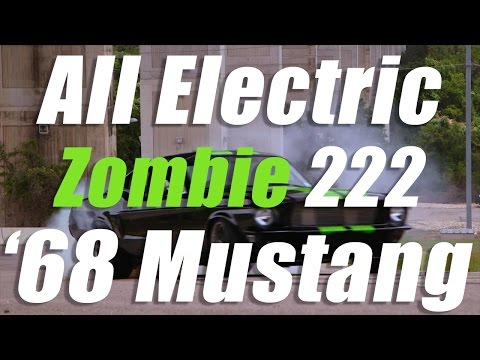 Meet the Zombie 222, the electric 1968 Mustang that does 0-60 in 1.9 seconds