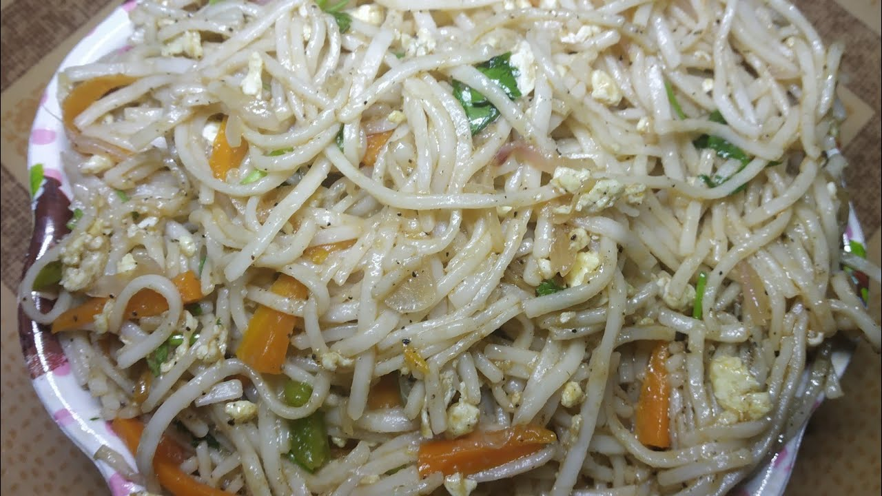 Egg Noodles Recipe in Tamil/Chinese Egg Noodles Recipe ...
