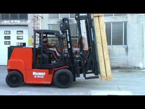 Italcarelli Glass Handling Device for Forklift Trucks  ABV 50