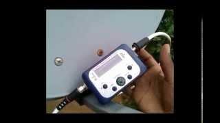 Satellite TV signal meter