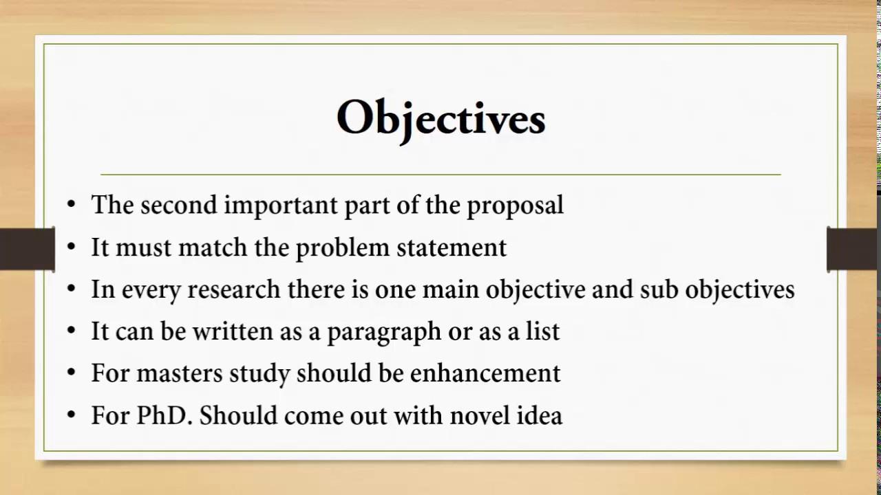 How To Write A Proposal كيف تكتب خطة بحث Youtube