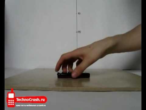 Краш-тест мобильного телефона Nokia 5530