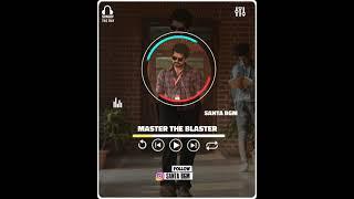 Master the Blaster Anirudh Ravichander and Bjorn Surrao