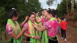 Múa Thái Sơn La - Múa Khăn - Đội PN TK 8 Xã Ná Bó tháng 9/2017