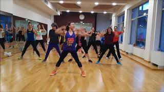 Pa los locos (MM64) Latin Dance - Zumba fitness choreography